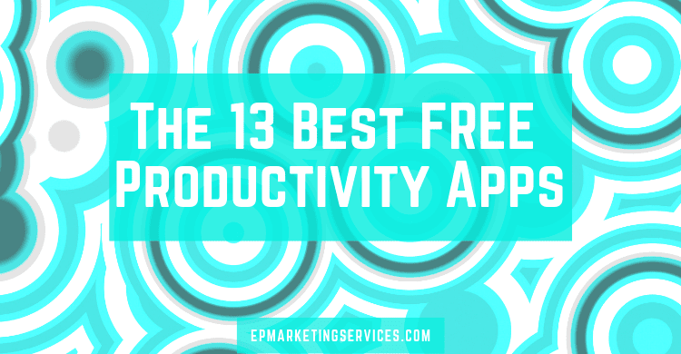 Best Free Productivity Apps