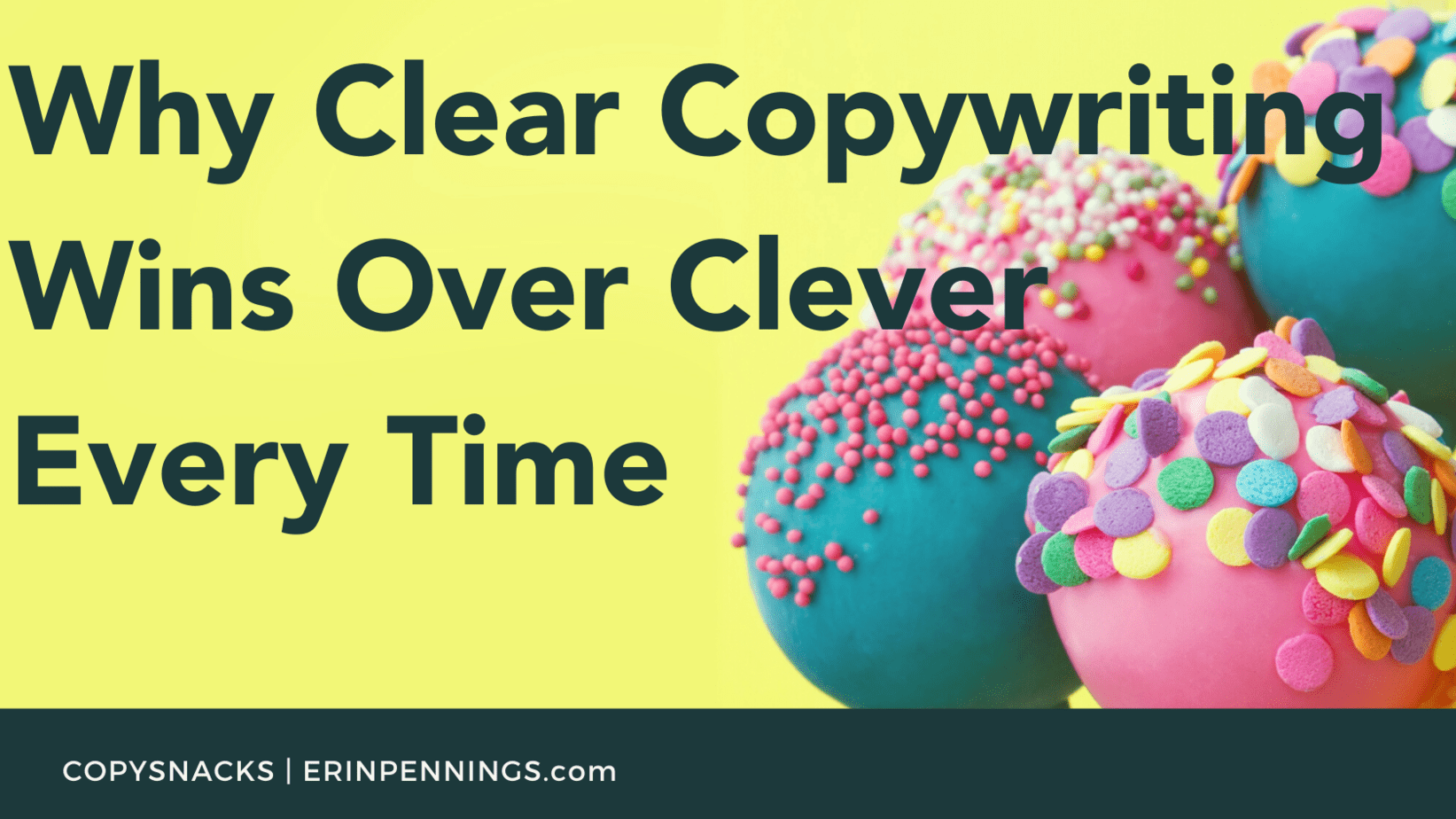 Why Clear Copywriting Wins Over Clever Every Time