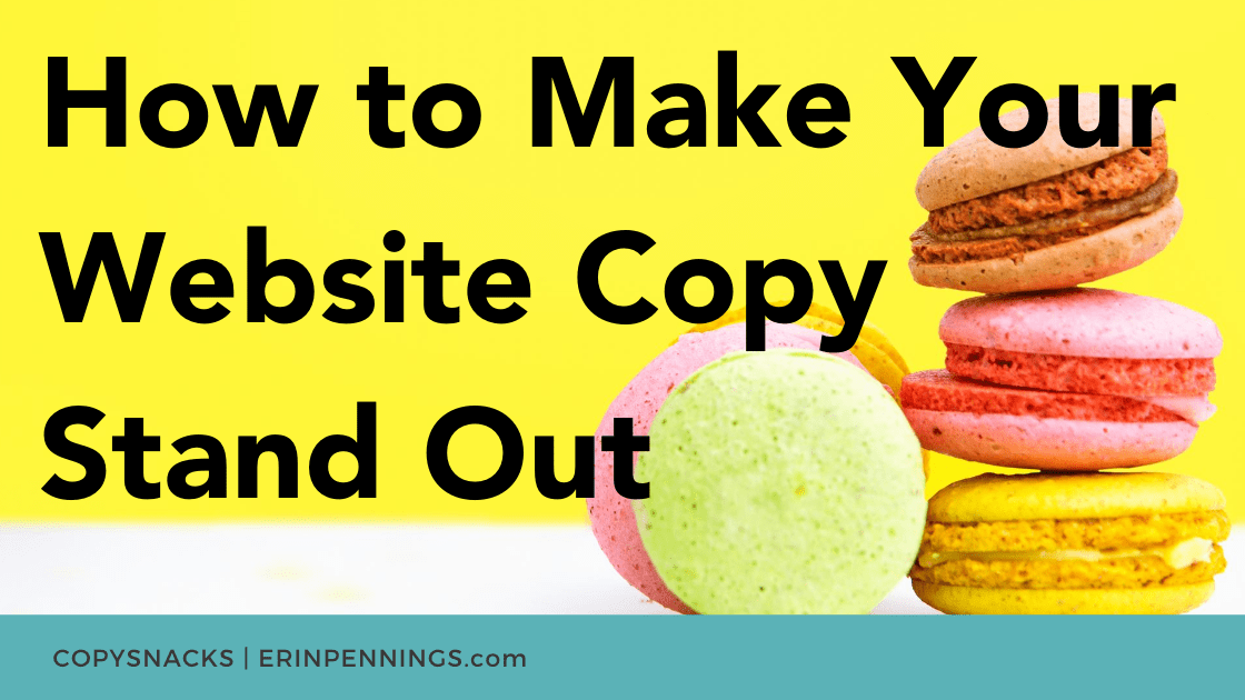 How to Make Your Website Copy Stand Out