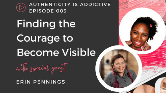 Finding the Courage to Become Visible on Apple Podcasts
